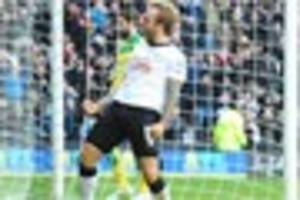Video: Watch highlights of Derby County's 2-2 draw with Norwich...